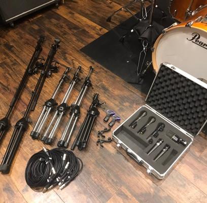 ドラム用マイク8本セット