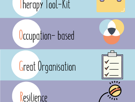 CONNECT TO GROW- More to being a paediatric OT than a few tools in your therapy kit.