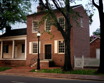 A Reconstruction of the 1823 William Woodruff Print Shop