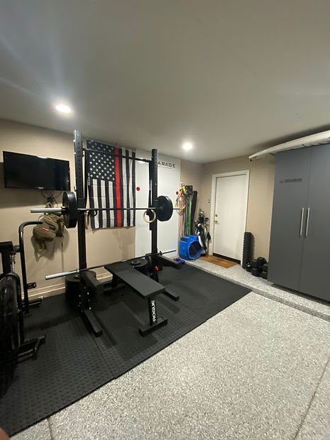 Garage Gym Cabinets