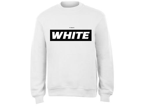WHITE - MIKINA - Limitovaná edice
