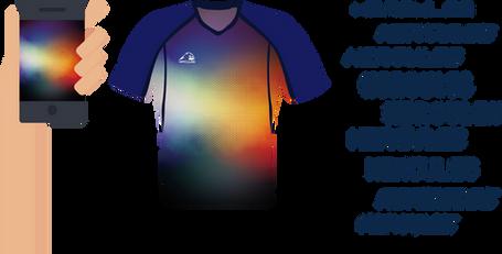 Hercules-欖球衫,熱昇華欖球衫