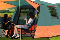 帳篷, 露營帳篷 -全自動戶外雙層帳篷01