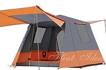 帳篷, 露營帳篷 -全自動戶外雙層帳篷02