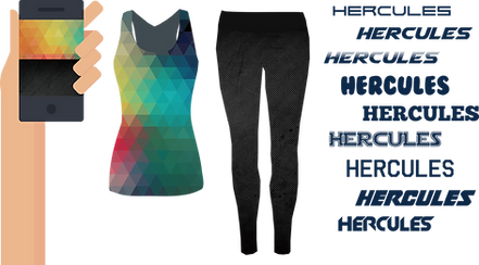 Hercules-田徑衫,熱昇華田徑衫