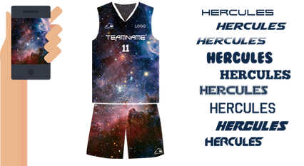 Hercules-籃球衫,熱昇華籃球衫