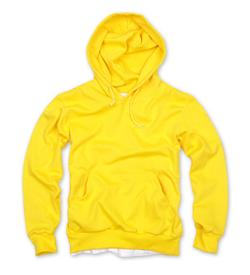套頭衛衣,360g 毛圈套頭衛衣_黃色