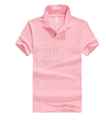 Polo恤_男裝粉紅色