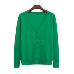 Cardigan jacket_草綠