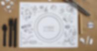 餐枱紙印刷,餐桌紙印刷,餐紙印刷,印外賣紙