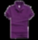 Polo恤_男裝紫色