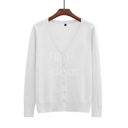 Cardigan jacket_白色