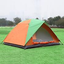 帳篷, 露營帳篷 -玻璃纖維防風防水雙人帳篷01