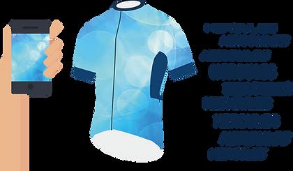 Hercules-單車衫,熱昇華單車衫