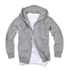 拉鏈套頭衛衣,毛圈拉鏈套頭衛衣_灰色