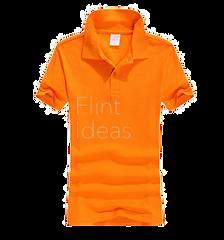Polo恤_女裝橙色