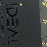 咭片印刷 燙黑咭片