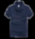 Polo恤_男裝深藍色