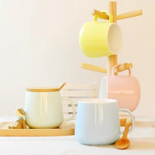 廣告杯- C122 顏色陶瓷杯illustration