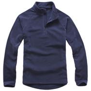 拉鏈衛衣,立領拉鏈衛衣_深藍色