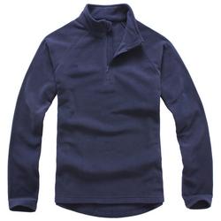 拉鏈衛衣,立領搖粒絨拉鏈衛衣_深藍