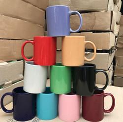 廣告杯 -顏色陶瓷杯