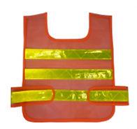 工程制服,反光衣,反光衣背心-red