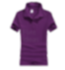Polo恤_女裝紫色