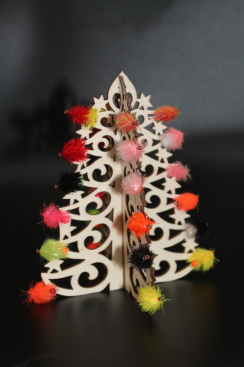 FABulous Flies Christmas Tree