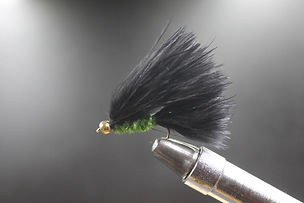 Beadeye Black & Olive Cats Whiskers