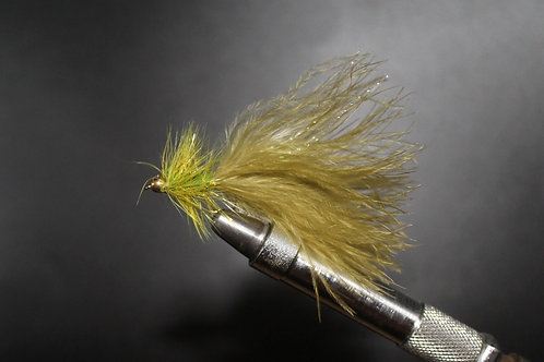 Goldhead Olive Woolly Bugger