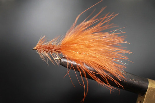 Orange and Brown Woolly Bugger