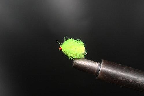 Fluorescent Yellow Half Tail Blob