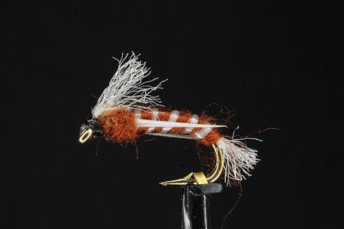 Brown Poly Ribbed Buzzer
