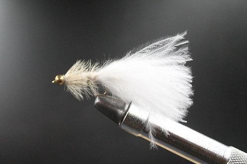 Goldhead White Woolly Bugger