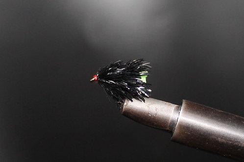Black Green Tail Blob