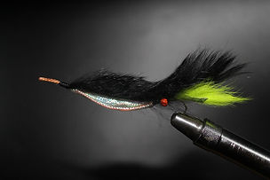 Black & Lime Weed Fly (Snake)