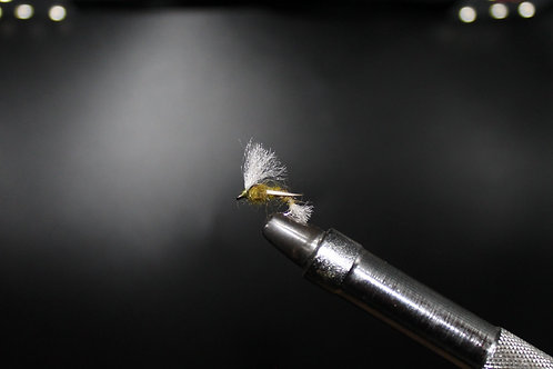Olive Poly Ribbed Buzzer