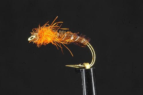 Coves Pheasant tail Nymph - Orange