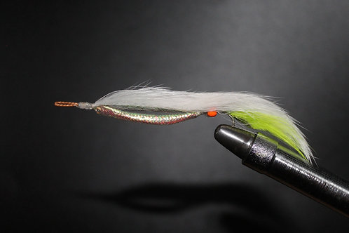 White & Lime Weed Fly (Snake)
