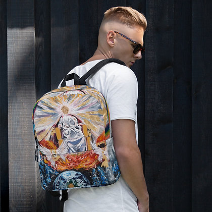 """Ancient of Days"" Backpack"