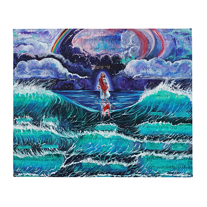 """""""Prince of Peace"""" Throw Blanket"""
