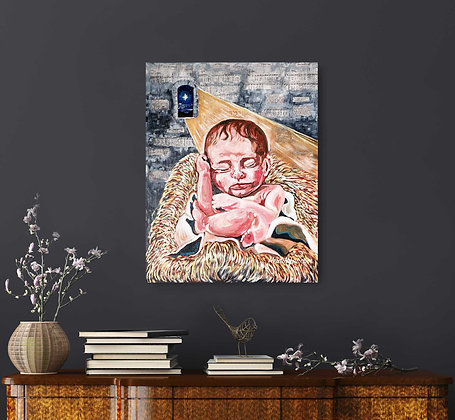 Unto to Us a Child is Born (Canvas)