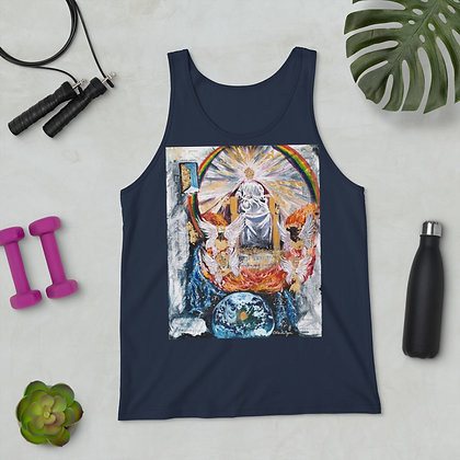 """Ancient of Days"" - Unisex Tank Top"