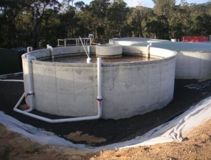 Large winery wastewater treatment plant (SBR)