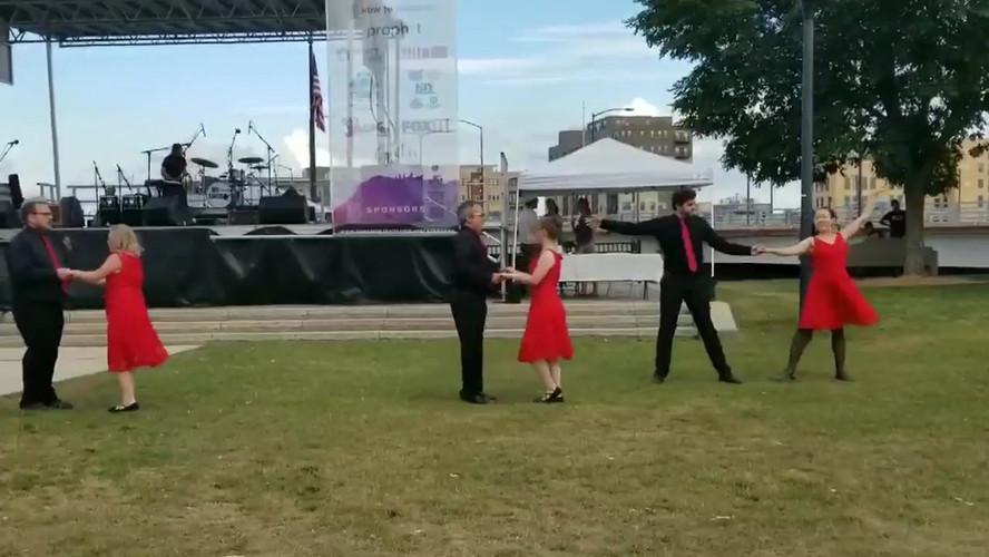 Dance Performance in Green Bay