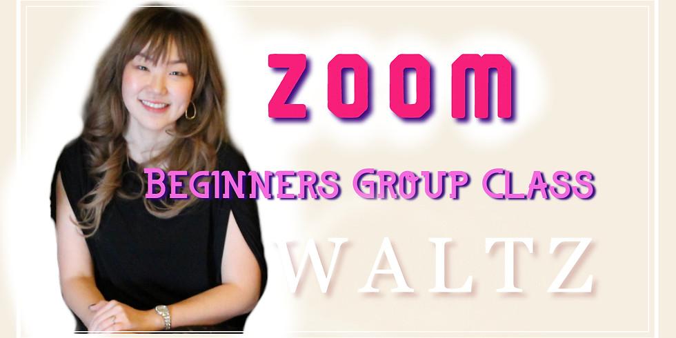 ZOOM Online Beginners Group Class - Waltz