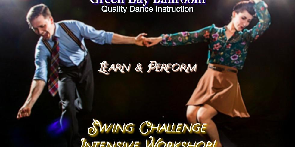 Swing & Jive Challenge - Learn & Perform!
