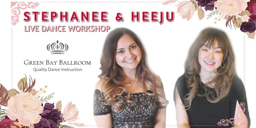 LIVE! Dance with HeeJu & Stephanee