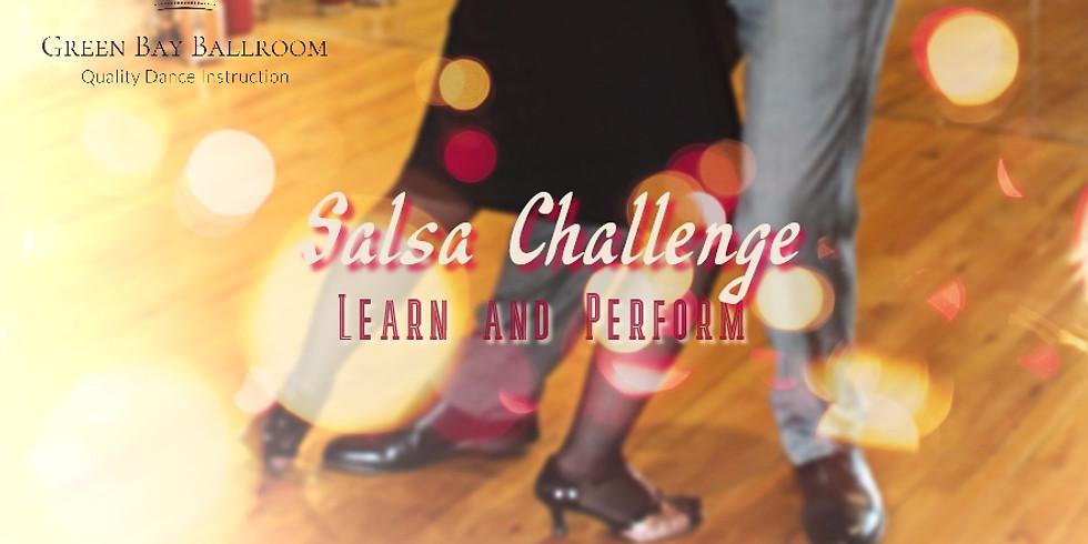 Salsa Challenge - Learn & Perform!